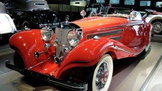 Wunderschöner Roadster im Mercedes-Benz-Museum