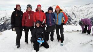 Am Gipfel des Karkogels (2.087m)