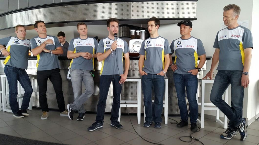 24h-Rennen 2016: , Team ROWE-Racing