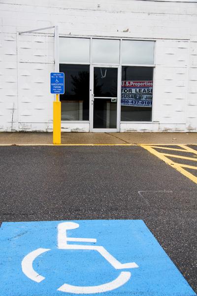handicap space