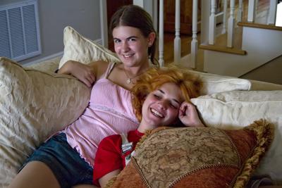 Tessa and Maria