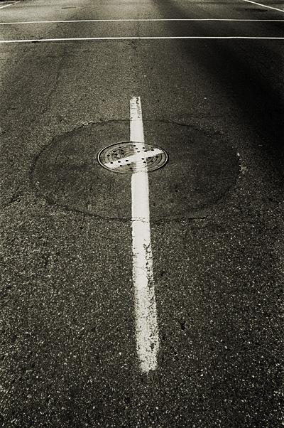 cross in the street