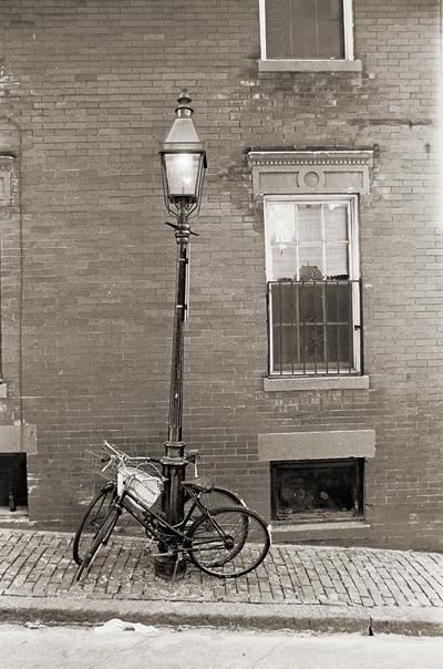 bikes on Beacon Hill