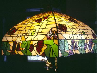 floral hanging lamp