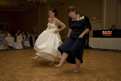 Katie and Mom dance