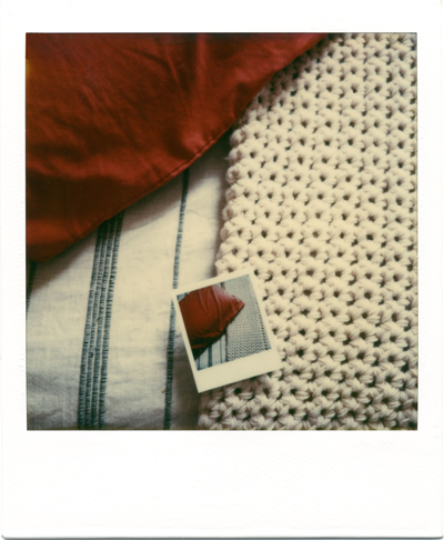 pillow and blanket