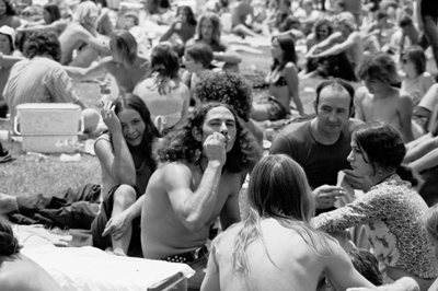 rock festival in Atlanta, 1973