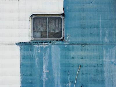 trailer window in Watkins Glen