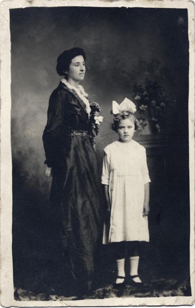 Woman and girl