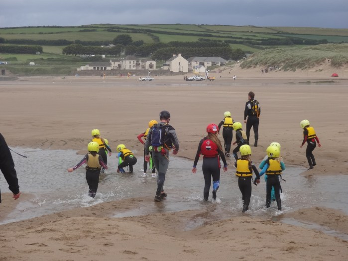 Off with Coasteering