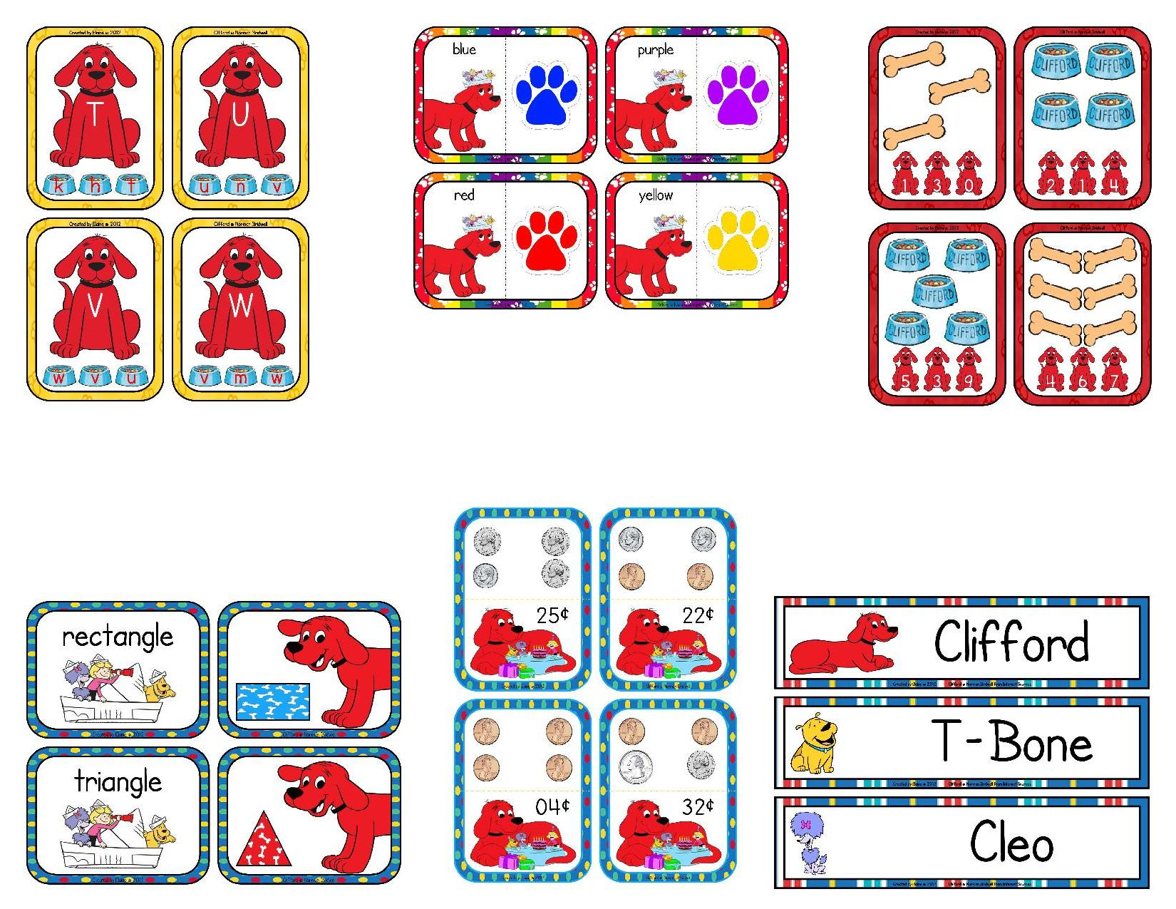 Clifford The Big Red Dog Clip Art