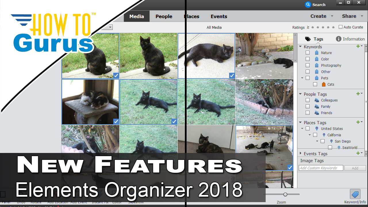 features of adobe photoshop elements 2018