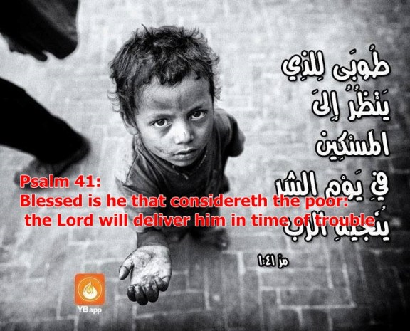 bless the poor psalm 41