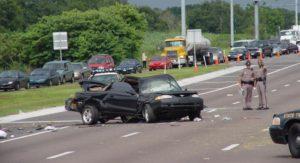 Interstate 4 near Orlando