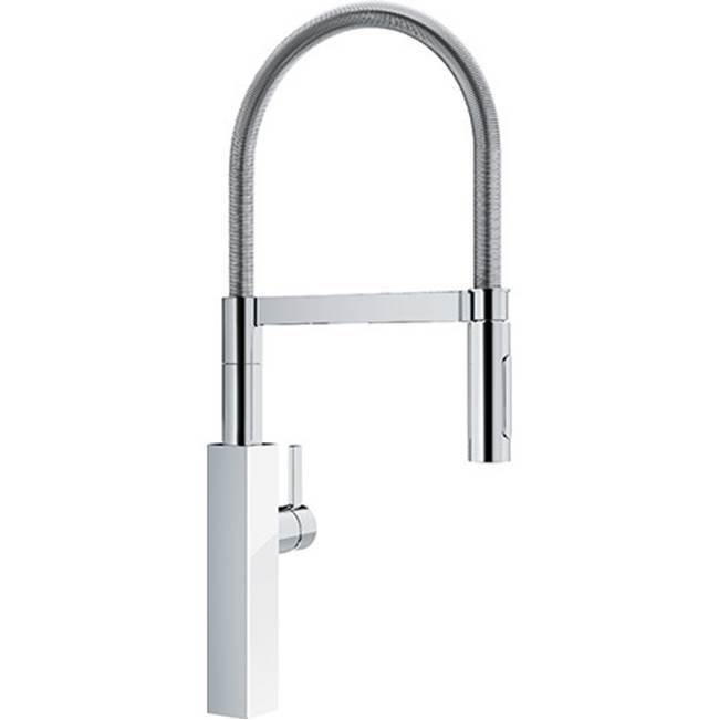 crystal pd kitchen faucet wh glass chrome
