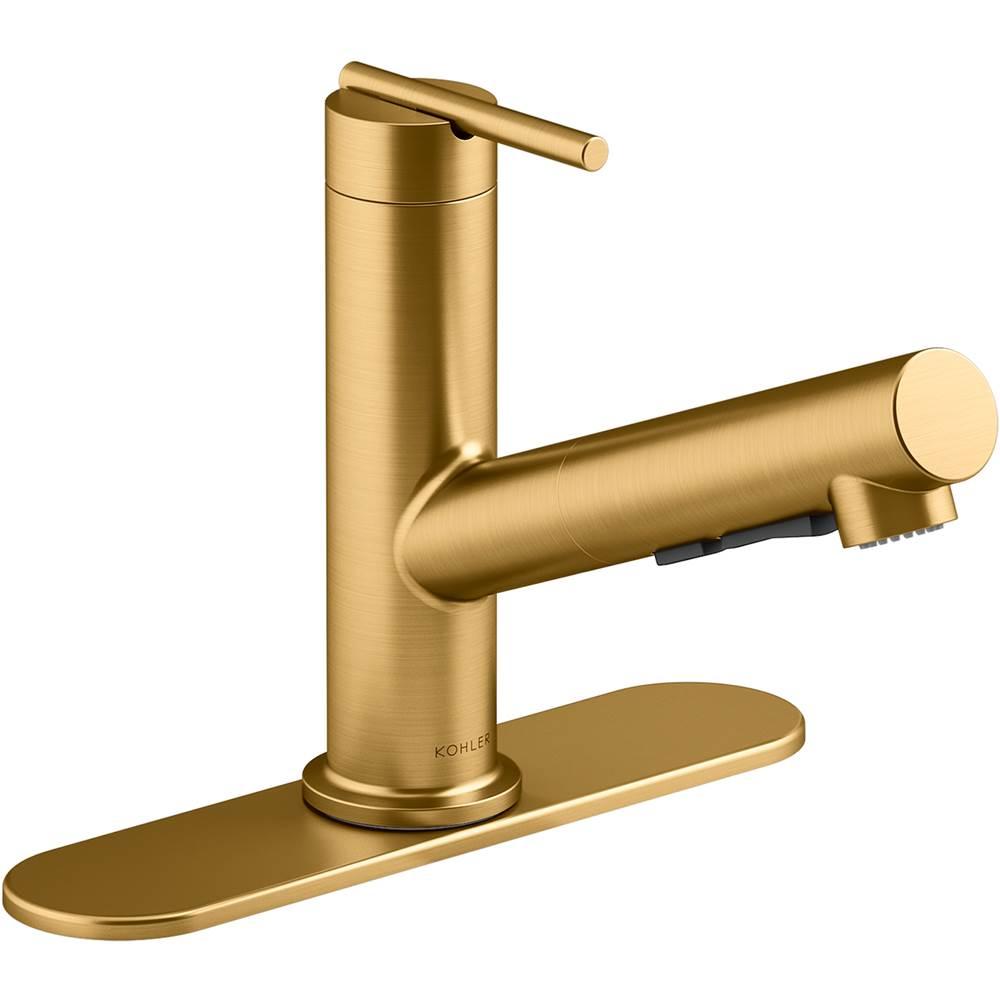kohler kitchen brass tones george s