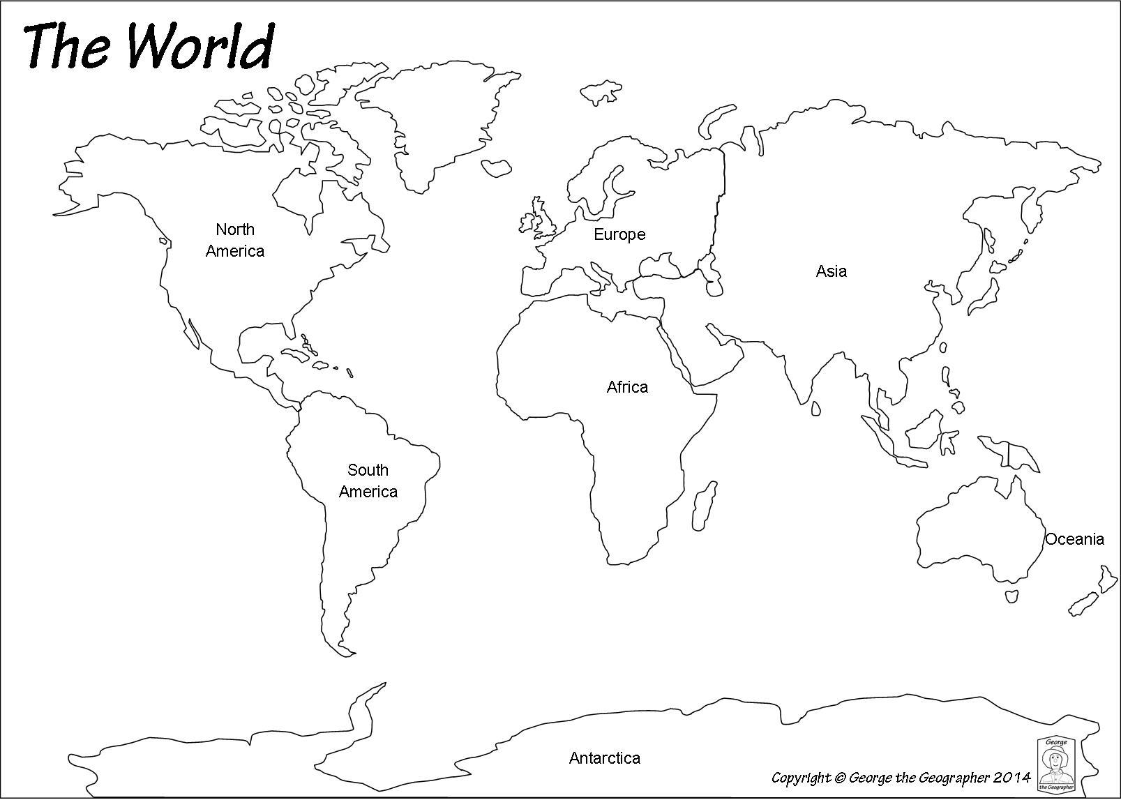Outline Base Maps