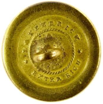 1820-30's Navy 22.6mm Gilded Brass NA 86-A.2 RJ Silverstein's georgewashingtoninauguralbuttons.com O