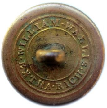 1820's Navy 23mm Gilded Brass 13 six pointed starsrj silverstein's georgewashingtoninauguralbuttons.com R-20
