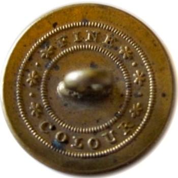 1820-30's Artillery Militia Brass 22mm. AY 59-A English Unlist. Variant rj silverstein's georgewashingtoninauguralbuttons.com R