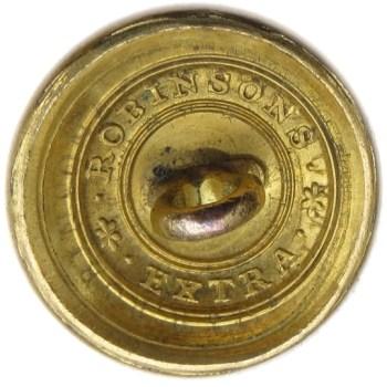 1821-30's Federal Artillery 20.01 Gilt Brass 20.02mm Orig Shank AY 199 D.5 AY 64 A.1 PD $35 2-15-16 R