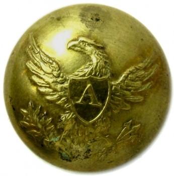 1840-50 Artillery 20mm Gild brass RJ Silverstein's georgewashingtoninauguralbuttons.com O