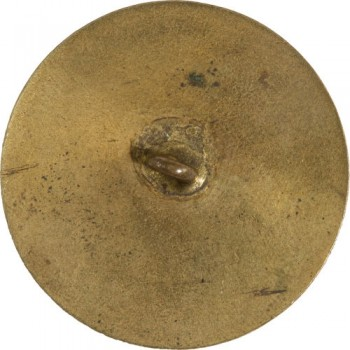 GWI 1-B 34mm Gilt Brass RJ Silversteins georgewashingtoninauguralbuttons.com R
