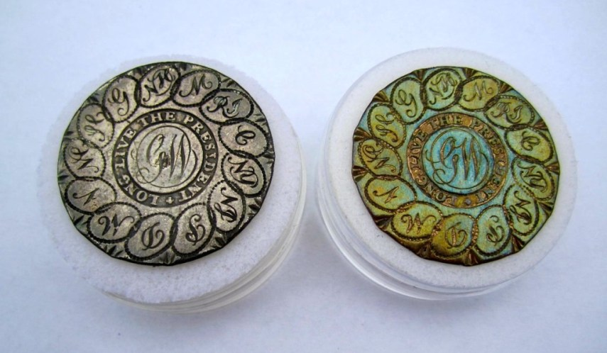ZZ-WI 4-B 35mm Gilded Brass-Sheffield Silver RJ Silverstein Collection