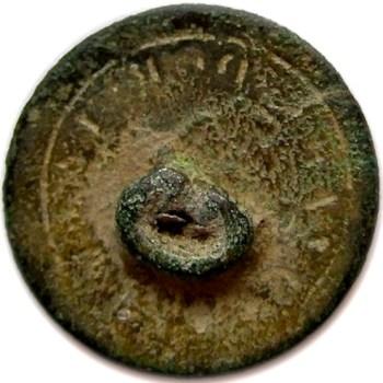 1770-1820 Her Majesty's Coast Gaurd 19mm rj silverstein's georgewashingtoninauguralbuttons.com R