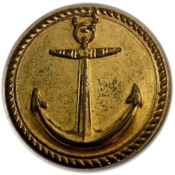 1775-82 Navy Copper Repouse Gild 19mm rj silverstein's georgewashingtoninauguralbuttons.com O