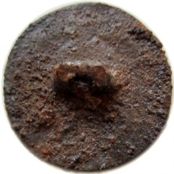 1780 Royal Provincial 22mm copper orig shank rj silversteins georgewashingtoninauguralbutton.com r