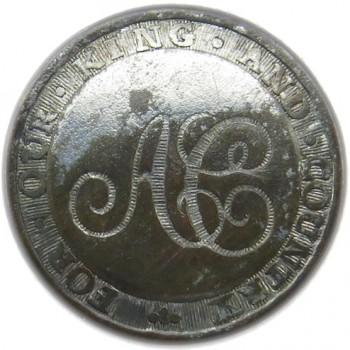 1790 Anglican church of England 22.87 Silver Wash or Tinned RJ Silverstein georgewashingtoninauguralbuttons.com O