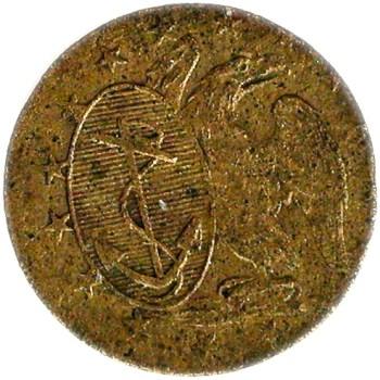 1802-10 US Navy Armitage NA 9 Flash Georgewashingtoninauguralbuttons.com O