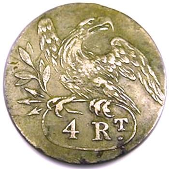 1808-11 4th Regt Infantry georgewashingtoninauguralbuttons.com O