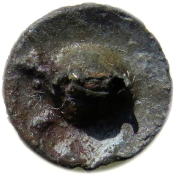 1811-12 US Army Infantry 16mm Pewter Cockcade Button Iron Shank Missing 12 Stars Albert's GI 45 No Shank georgewashingtoninauguralbuttons.com R