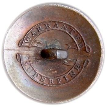 1812 US Infantry GI-51 I Silvered Brass rj silverstein georgewashingtoninauguralbuttons.com R