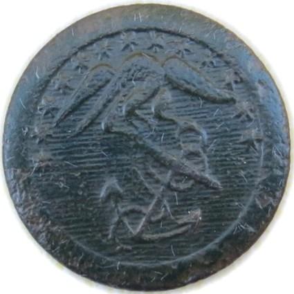 1820's Marines 20.41mm Brass georgewashingtoninauguralbuttons.com O