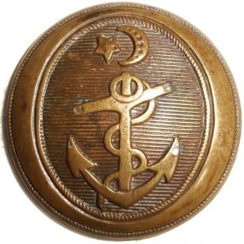 1820's Texas Navy 23mm Brass Scarce Unlisted RJ Silverstein's georgewashingtoninauguralbuttons.com T-51