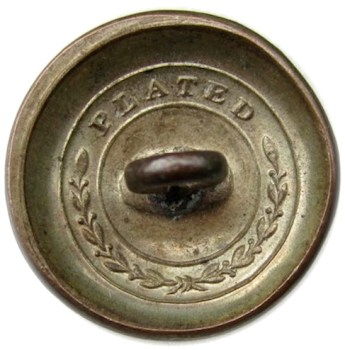 1821-40's Infantry 19mm Silver Plated Copper Albert GI79 Tices GI200 D.4 Paid $75. 09-8-12 r