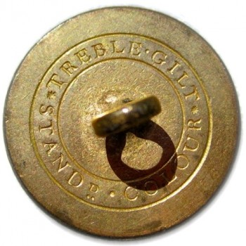 1830-40's New York State Militia 23mm Gilt Brass georgewashingtoninauguralbuttons.com R