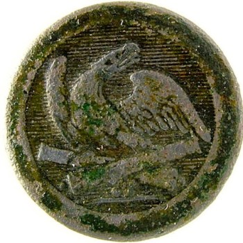 1830's Federal Ordnance Dept. 21.5mm Gilt Brass georgewashingtoninauguralbuttons.com o