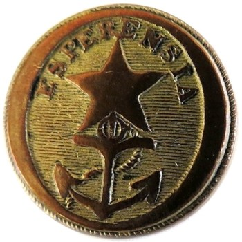 1837 Texas 23mm Gilt Brass Ebay 5-13-$
