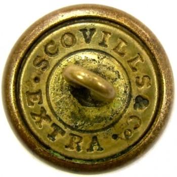 1840-50's Engineers 15mm Gold Plate georgewashingtoninauguralbuttons.com R