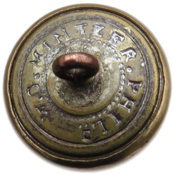 1840-61 Dragoons 20.02mm Gilt Brass DR 215 A.20 RJ silversteins georgewashingtoninauguralbuttons.com r