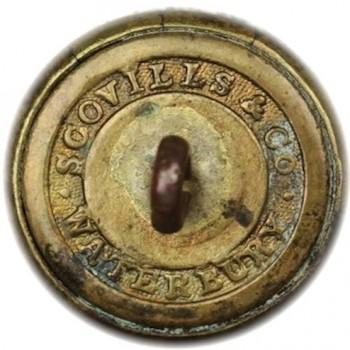 1847-48 Volitgeurs 20mm Gilded Brass georgewashingtoninauguralbuttons.com r2