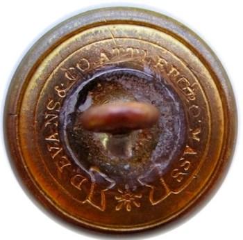1850's Federal Ordnance Dept 23mm Gilded BrassGeorgewashingtoninauguralbuttons.com R