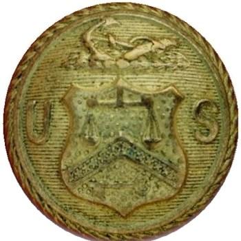 1860 Revenue Cutter SVC FD 10-B RJ Silversteins georgewashingtoninauguralbuttons.com O