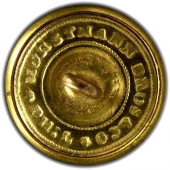 1860's Federal Engineers 22.5mm Gilt Brass Albert EG6 Tice EG215UK.1 RJ Silversteins georgewashingtoninauguralbuttons.com R
