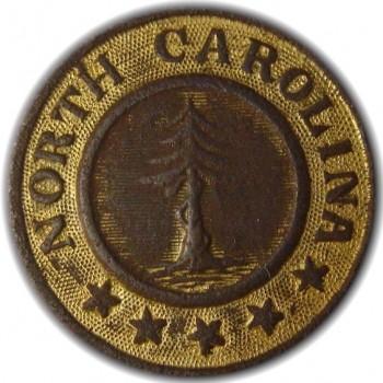 North Carolina Pine Tree NC-12 22mm Dug in Spotsyvania County VA. georgewashingtoninauguralbuttons.com O