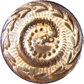 1783-1790 RATTLE SNAKE BUTTON RJ Silversteins georgewashingtoninauguralbuttons.com o